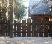 brama wjazdowa na okuciach kowalskich