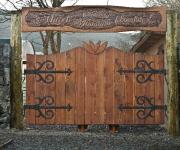 brama drewniana rustykalna