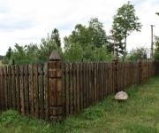 dreniane ogrodzenie