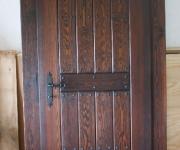 drzwi szczotkowane - proste