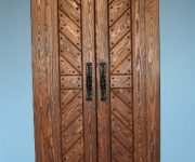 drzwi postarzane do garderoby