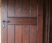 drzwi postarzane