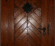 drzwi wejściowe rustykalne