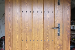 drzwi rustykalne proste deski