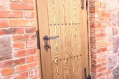 drzwi ozdobne do ziemianki