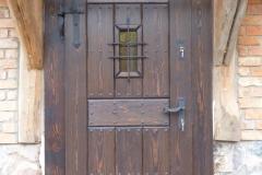 stykowe drzwi zewnętrzne drewniane