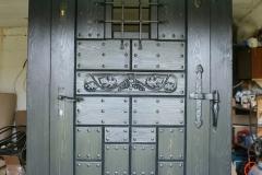 drzwi wejściowe w stylu loft