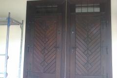 stylowe drzwi garażowe