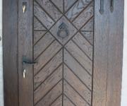 drzwi wejściowe z kołatka