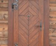 drzwi rustykalne jodełka